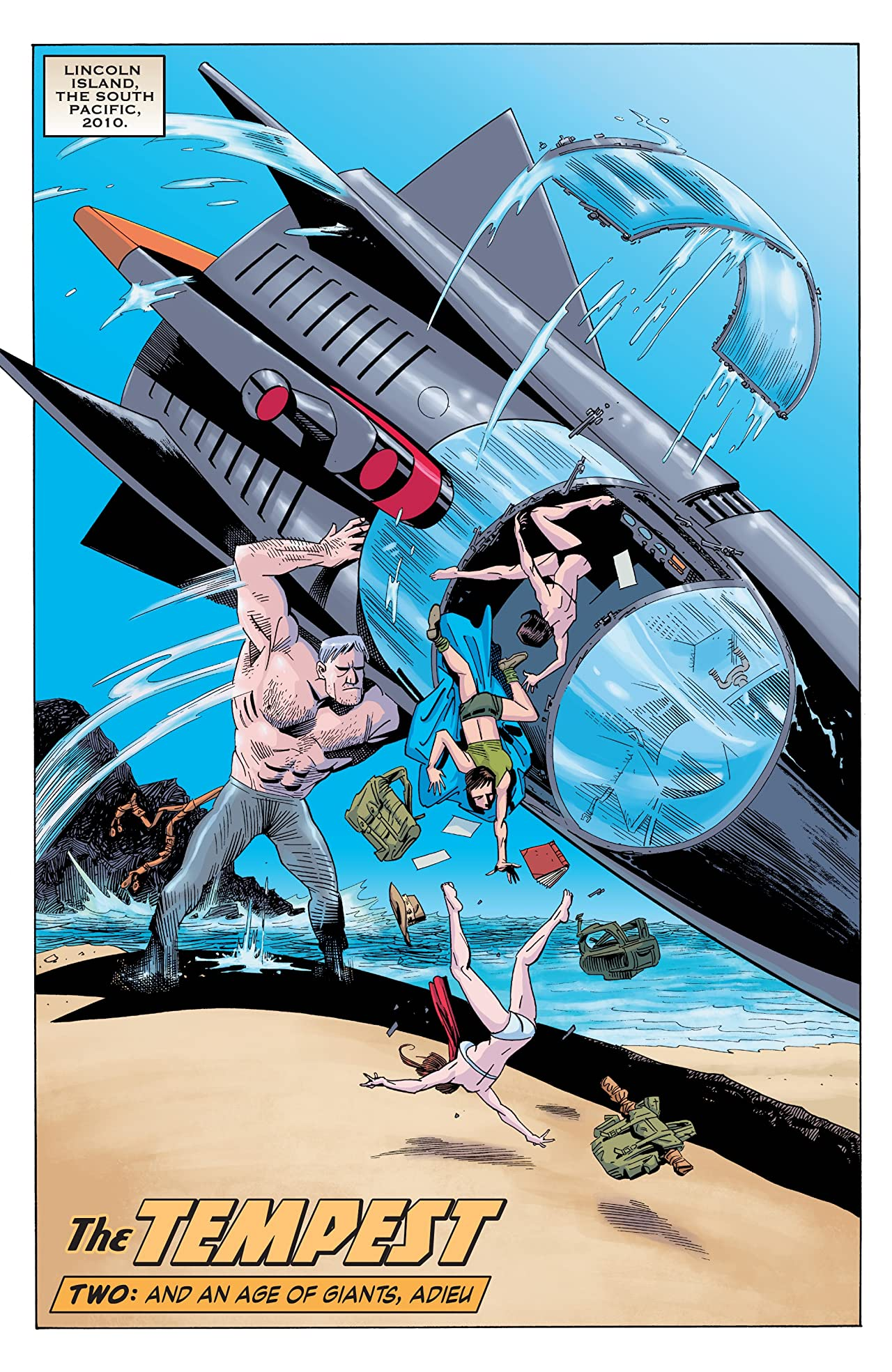 The League of Extraordinary Gentlemen: The Tempest #2 (of 6)