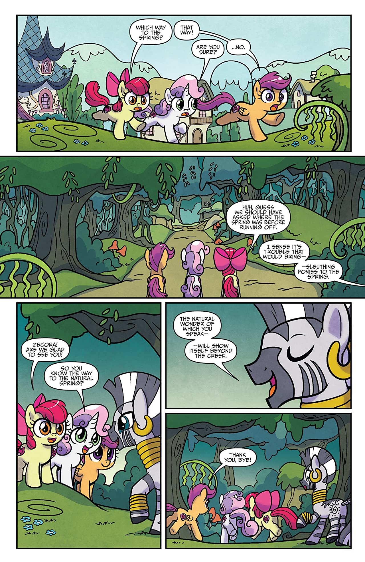 My Little Pony: Ponyville Mysteries #4