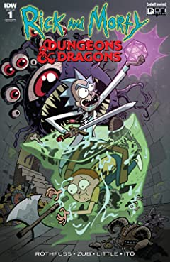 Rick and Morty vs. Dungeons & Dragons #1 (of 4)