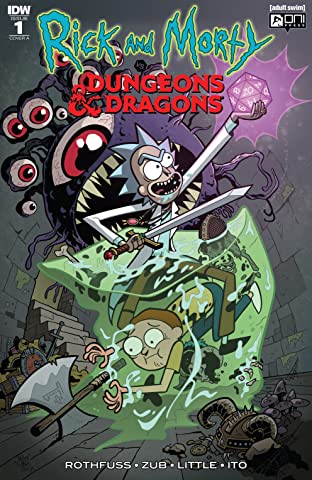 Rick and Morty vs. Dungeons & Dragons No.1 (sur 4)