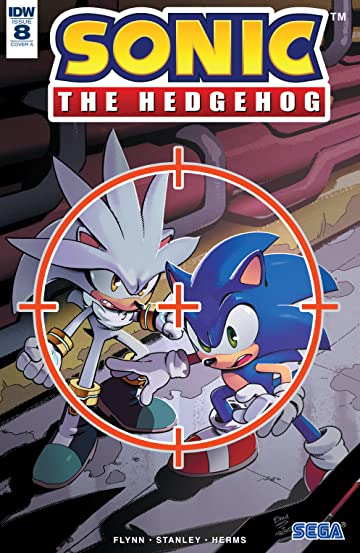 Sonic The Hedgehog (2018-) No.8