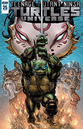Teenage Mutant Ninja Turtles Universe #25