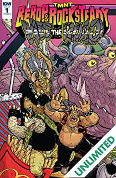 Teenage Mutant Ninja Turtles: Bebop & Rocksteady Hit the Road! #1 (of 5)