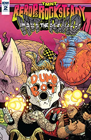 Teenage Mutant Ninja Turtles: Bebop & Rocksteady Hit the Road! #2 (of 5)