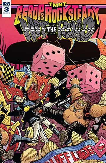 Teenage Mutant Ninja Turtles: Bebop & Rocksteady Hit the Road! #3 (of 5)