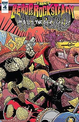 Teenage Mutant Ninja Turtles: Bebop & Rocksteady Hit the Road! #4 (of 5)