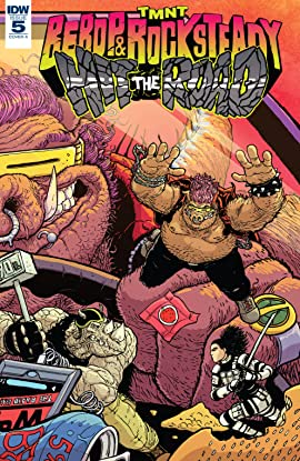 Teenage Mutant Ninja Turtles: Bebop & Rocksteady Hit the Road! #5 (of 5)