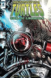Teenage Mutant Ninja Turtles: Urban Legends #4