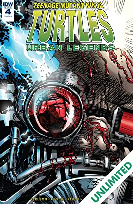 Teenage Mutant Ninja Turtles: Urban Legends #4
