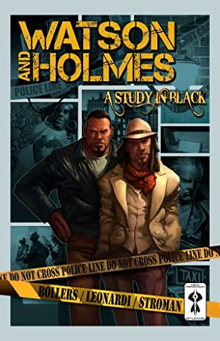 Watson And Holmes Vol. 1: A Study In Black