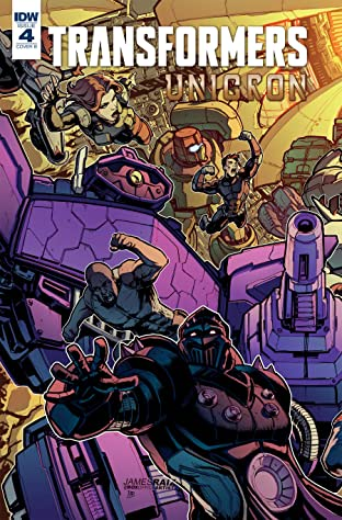 Transformers: Unicron #4 (of 6)