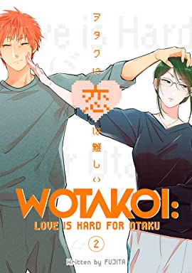 Wotakoi: Love is Hard for Otaku Vol. 2