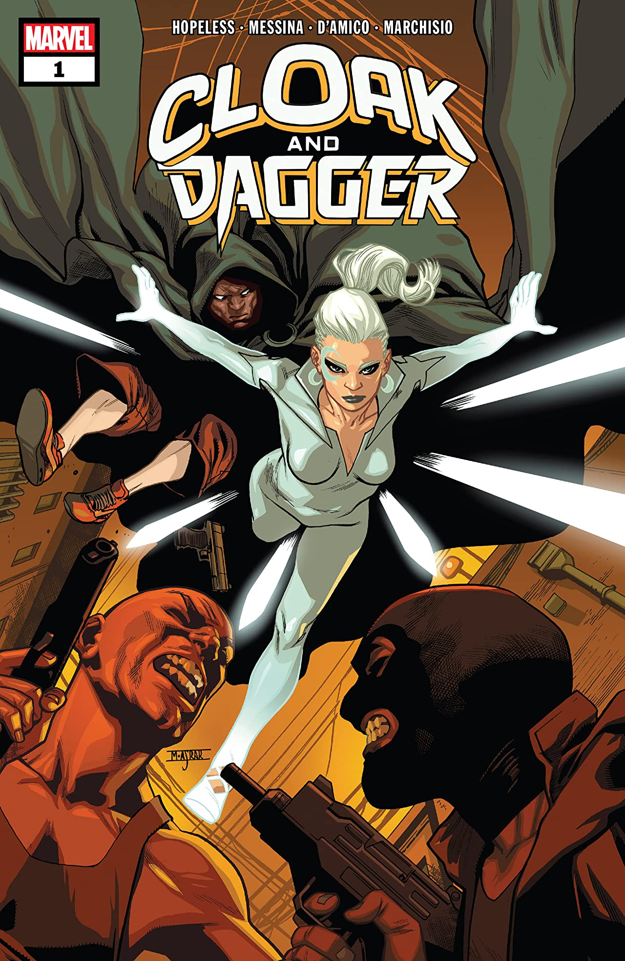 Cloak And Dagger (2018) #1 (of 6)