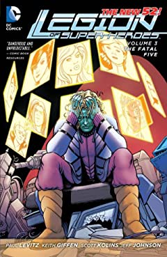 Legion of Super-Heroes (2011-2013) Vol. 3: Fatal Five