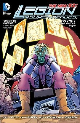 Legion of Super-Heroes (2011-2013) Vol. 3: Fatal Five