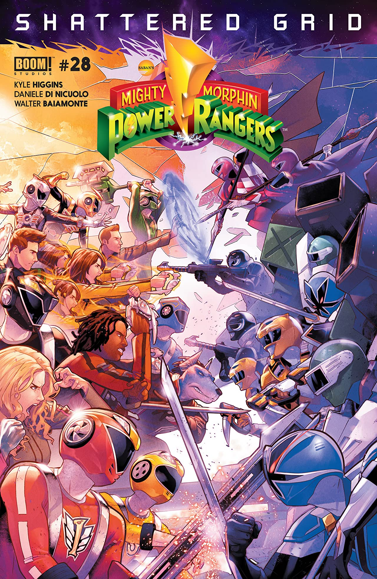 Mighty Morphin Power Rangers No.28
