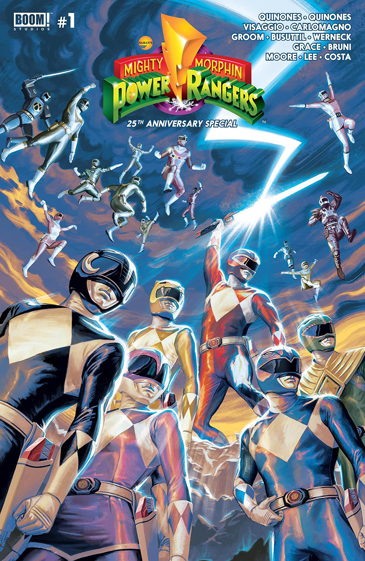 Mighty Morphin Power Rangers Anniversary Special No.1