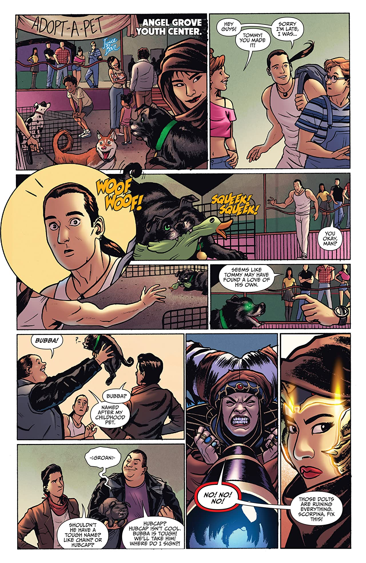 Mighty Morphin Power Rangers Anniversary Special #1