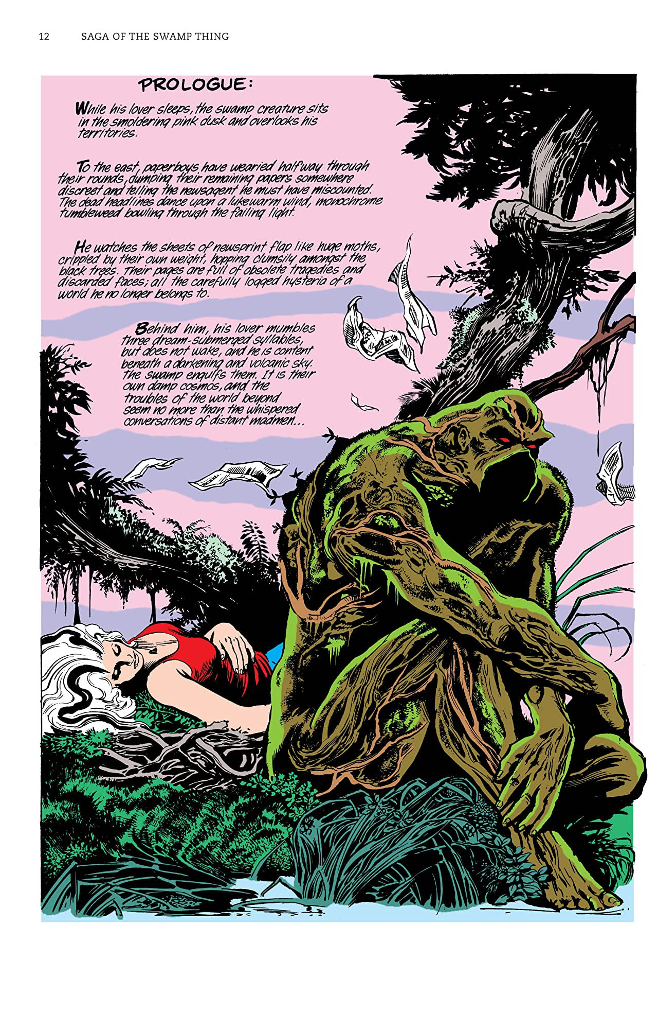 Saga of the Swamp Thing: Book Three