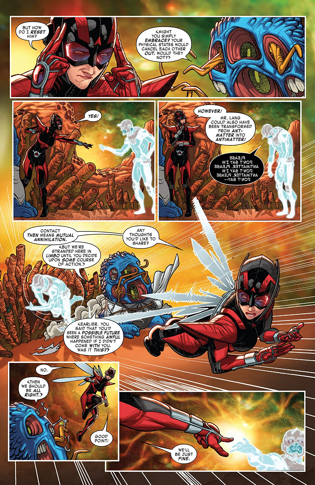 Ant-Man & The Wasp (2018) #4 (of 5)