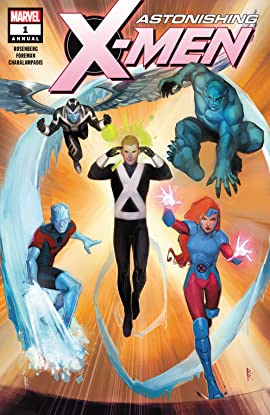Astonishing X-Men (2017-2018) Annual #1