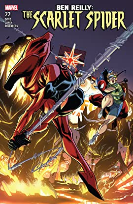 Ben Reilly: Scarlet Spider (2017-2018) #22