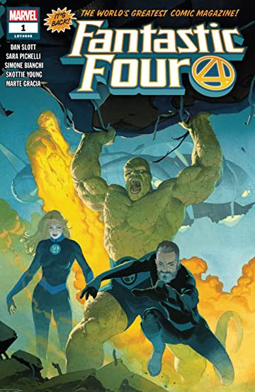 Fantastic Four (2018-) No.1