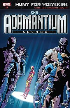 Hunt For Wolverine: Adamantium Agenda (2018) #4 (of 4)