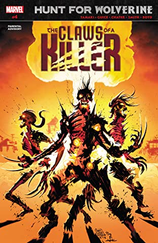 Hunt For Wolverine: Claws Of A Killer (2018) No.4 (sur 4)