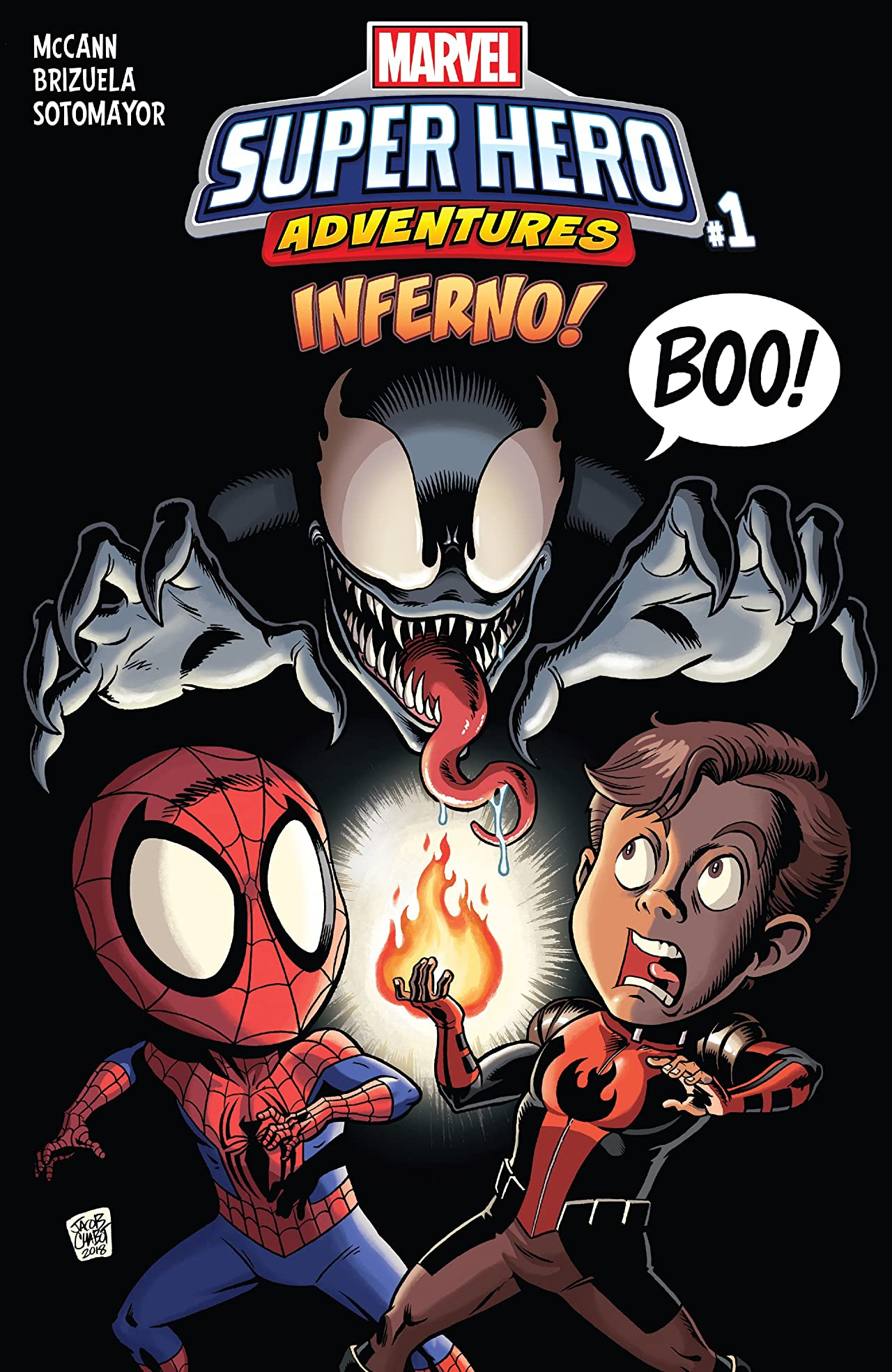 Marvel Super Hero Adventures: Inferno (2018) #1
