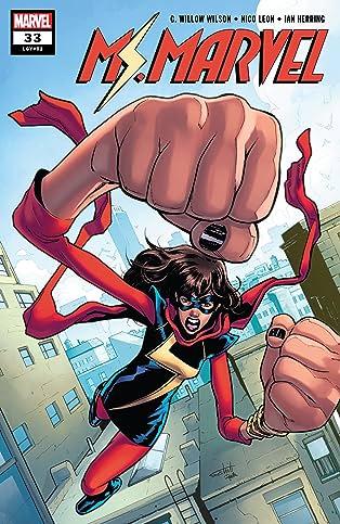 Ms. Marvel (2015-) #33