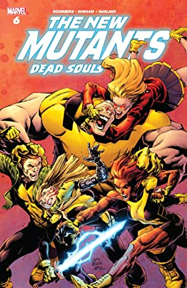 New Mutants: Dead Souls (2018) #6 (of 6)