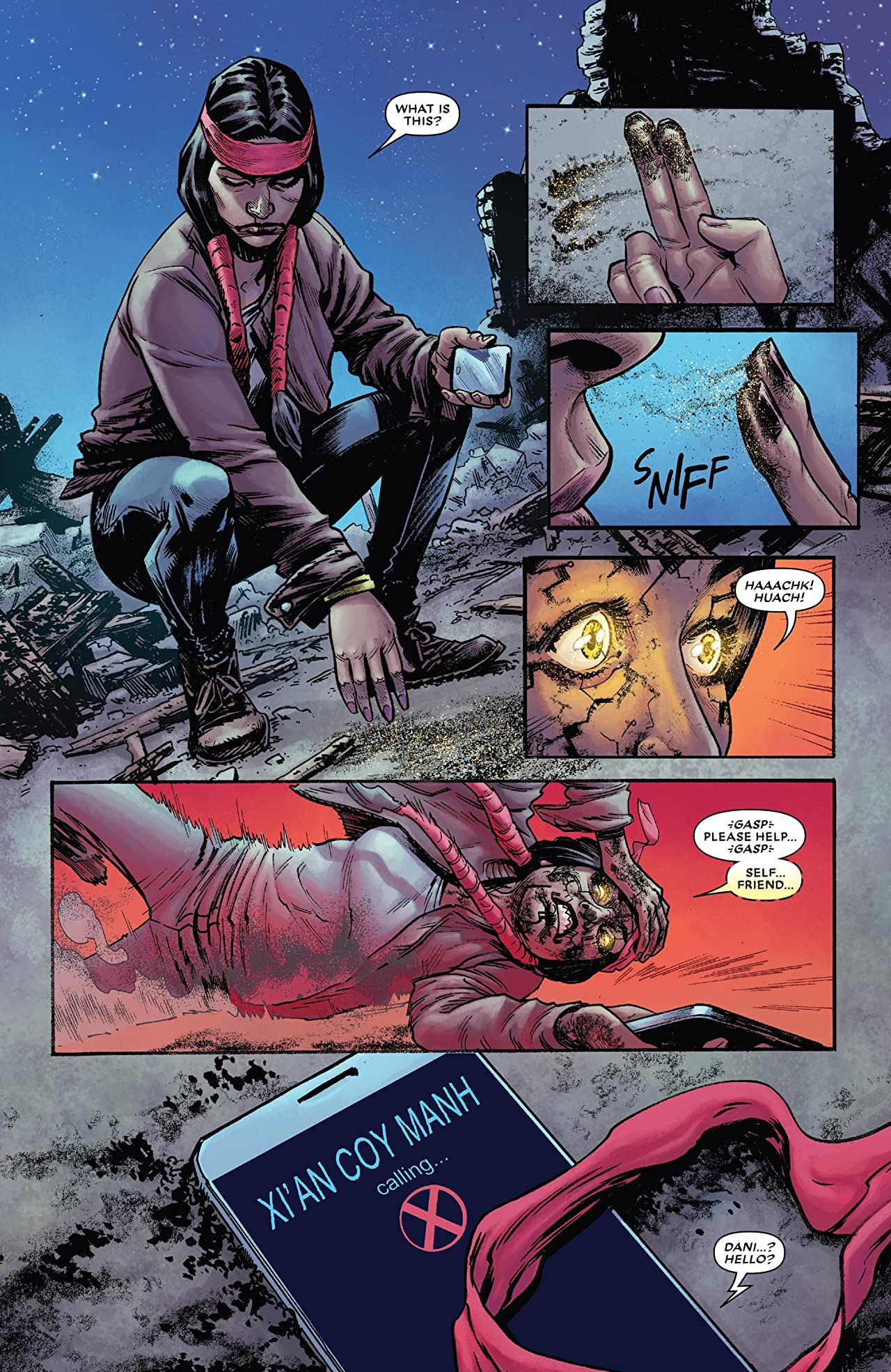New Mutants: Dead Souls (2018) #6 (of 6)