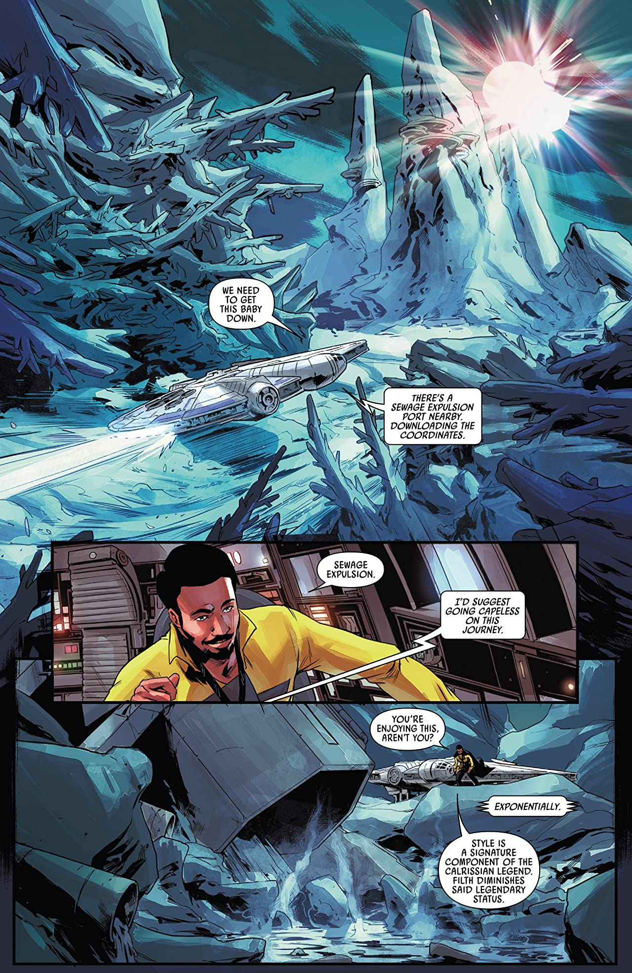 Star Wars: Lando - Double Or Nothing (2018) #4 (of 5)