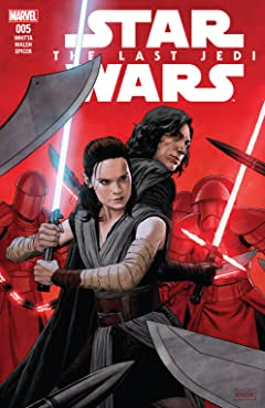 Star Wars: The Last Jedi Adaptation (2018) #5 (of 6)