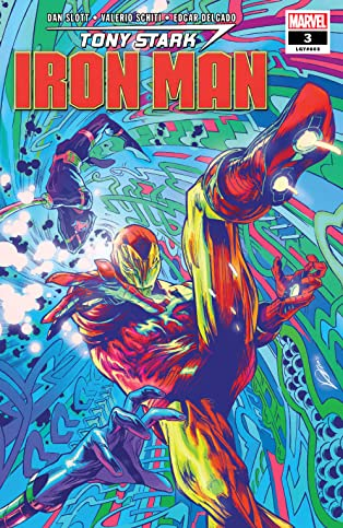 Tony Stark: Iron Man (2018-) #3