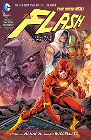 The Flash (2011-2016) Tome 3: Gorilla Warfare