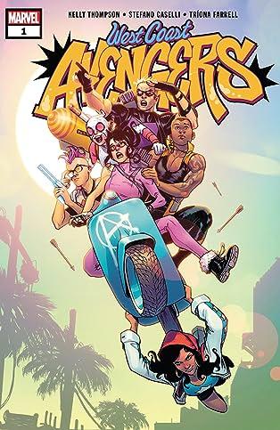 West Coast Avengers (2018-2019) #1