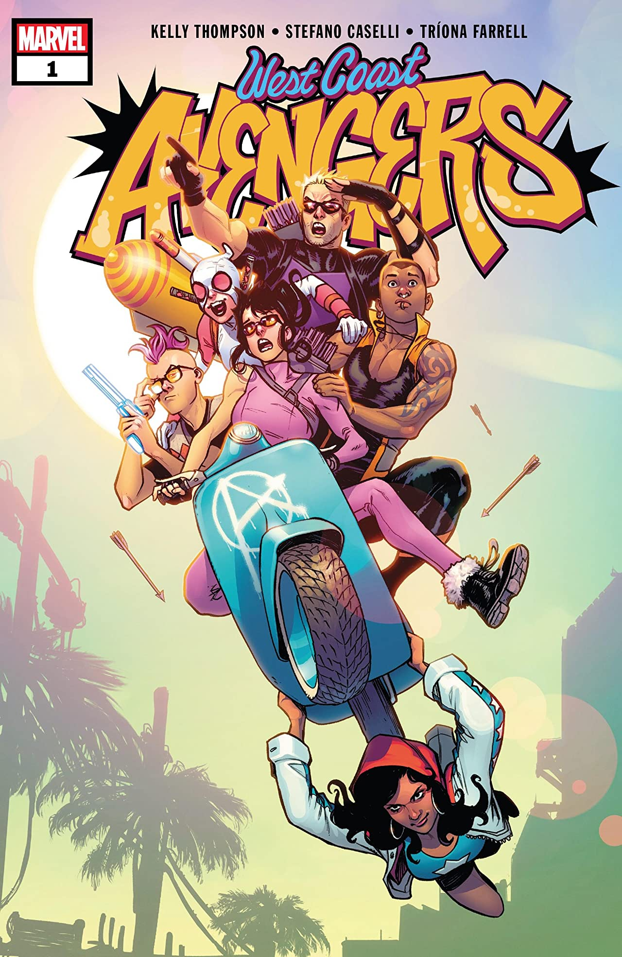 West Coast Avengers (2018-) No.1