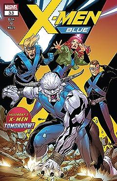 X-Men Blue (2017-) #33