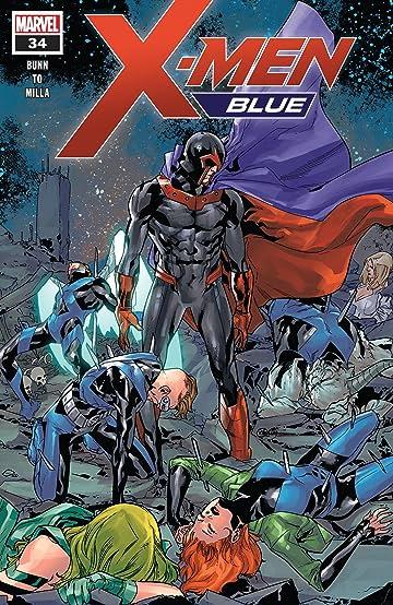 X-Men Blue (2017-) #34