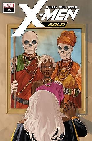 X-Men Gold (2017-) #34