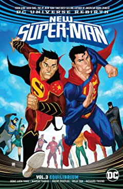 New Super-Man (2016-2018) Tome 3: Equilibrium