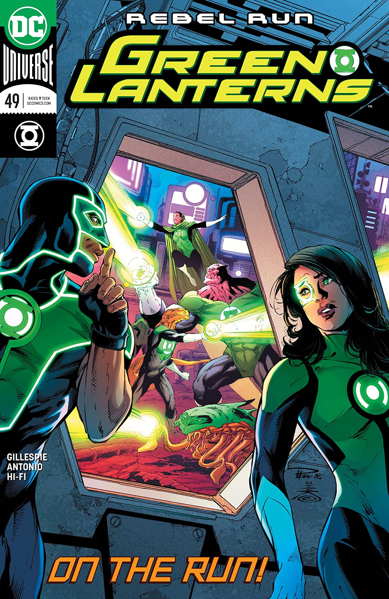 Green Lanterns (2016-) No.49