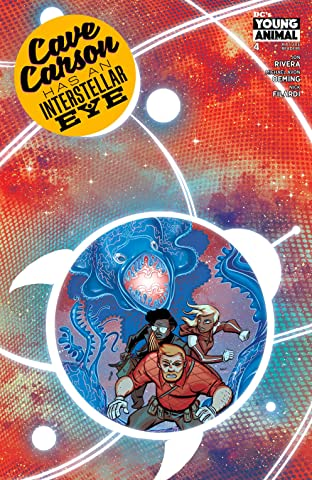 Cave Carson Has an Interstellar Eye (2018) #4