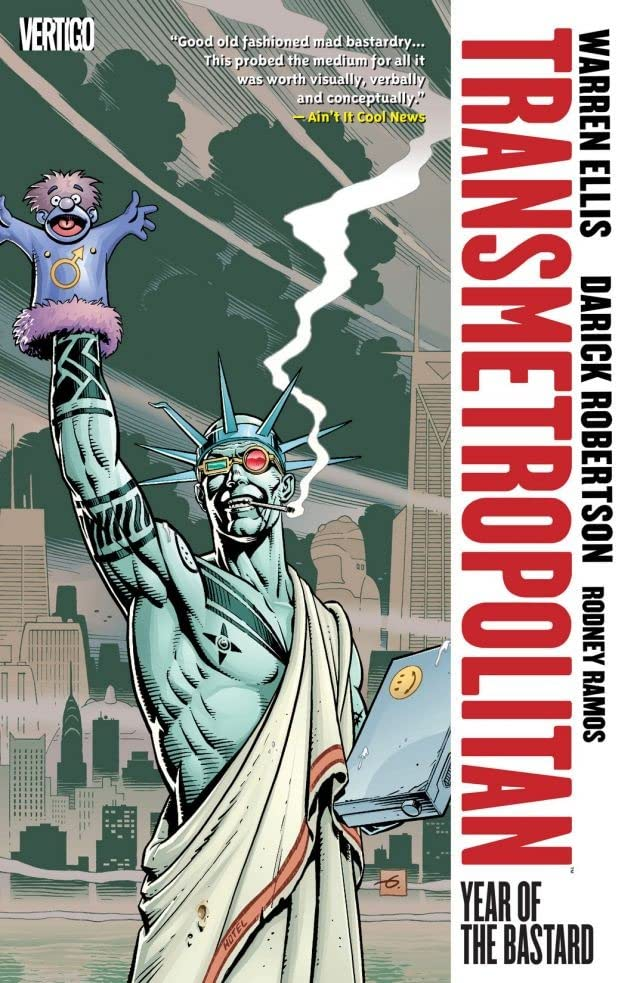 Transmetropolitan Vol. 3: Year of the Bastard