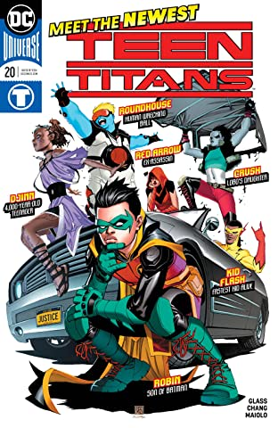 Teen Titans (2016-) No.20