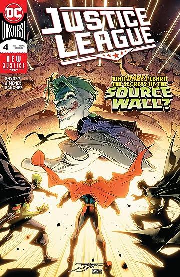 Justice League (2018-) #4