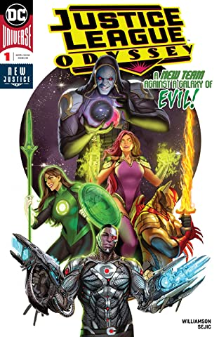 Justice League Odyssey (2018-) No.1