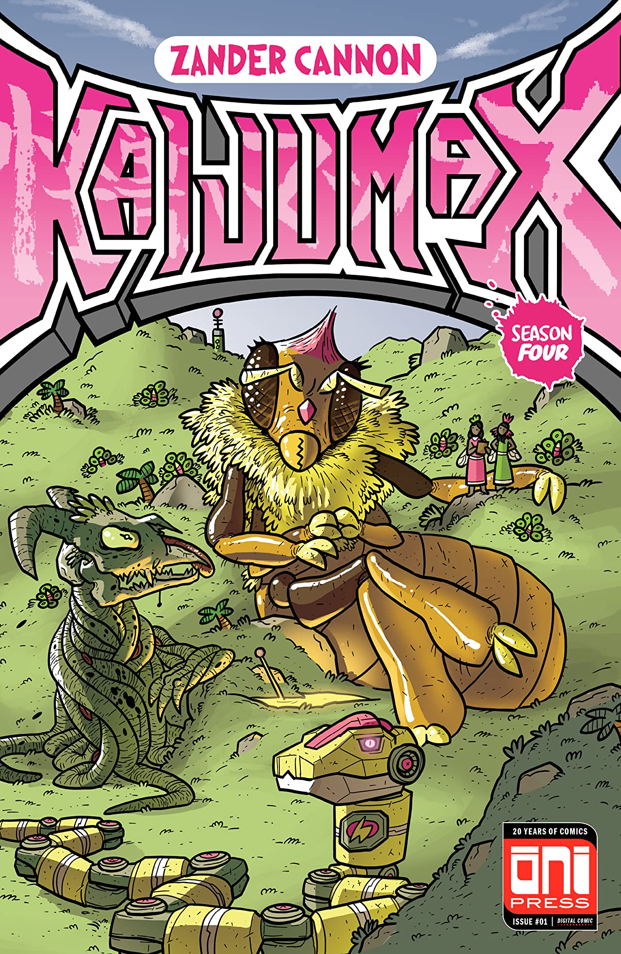 Kaijumax: Season Four No.1